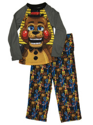Boys Five Nights At Freddy's Character Toy Freddy Pajamas Sleep Set