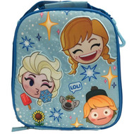 Disney Collection Frozen Anna & Elsa Insulated Lunch Box - Kids Lunch Bag
