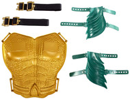 Aquaman Hero Ready Set, Dress Up Chestplate & Gauntlets Playset