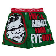 A Christmas Story Mens You'll Shoot Your Eye Out Ralphie Holiday Boxer Shorts