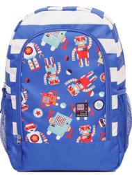 Crckt 2 Piece Slumber Bag With Backpack Tote Set - Robots Sleeping Bag