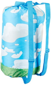 Disney Frozen Olaf Slumber Bag with Tote Backpack, Blue Sleeping Bag