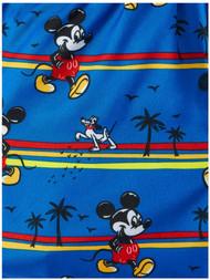 Disney Infant Boys Blue Mickey Mouse Swim Trunks Pluto Dog Board Shorts