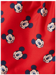 Disney Infant Boys Red Mickey Mouse Swim Trunks Baby Board Shorts