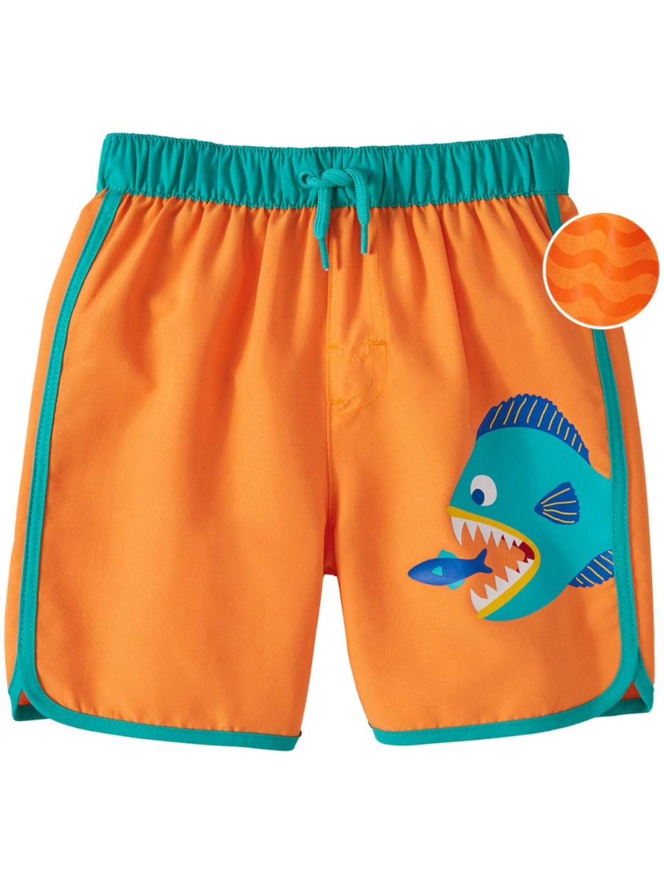 Boys Piranha Fish Swimming Trunks