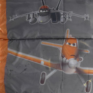 Disney Pixar Planes Kids Warm Camping Sleeping Slumber Bag, Dusty Crophopper
