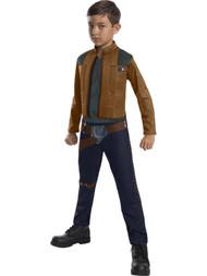 Boys Star Wars Han Solo Jumpsuit Halloween Costume