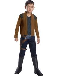 Boys Star Wars Han Solo with Belt Cosplay Halloween Costume