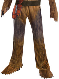 Boys Star Wars Chewbacca Jumpsuit Halloween Costume Printed Bandolier Pouch