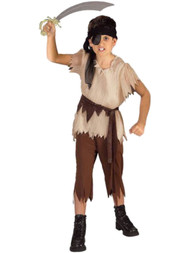 Boys Brown Buccaneer Pirate Raider Marauder Halloween Costume