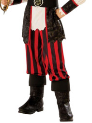 Boys Black Buccaneer Pirate Boy Pillager Halloween Costume
