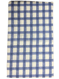 Better Home & Gardens Blue Gingham Check Pillowcase Set, 2 King Pillow Cases