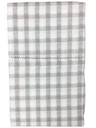 Better Home & Gardens Gray Gingham Check Pillowcase Set, 2 King Pillow Cases