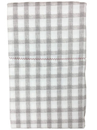 Better Home & Gardens Gray Gingham Check Pillowcase Set, 2 King Pillow Cases
