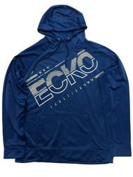 Ecko Mens Blue & Gray Hoodie Jacket