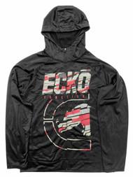 Ecko Mens Black & Red Zip Front Rhino Hoodie Jacket