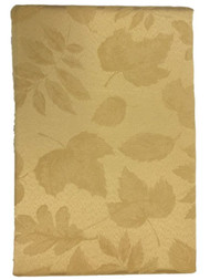 Autumn Gatherings Gold Damask Fabric Tablecloth Table Cloth 60x84 Ob