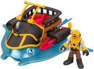 Fisher-Price Imaginext Captain Nemo & Stingray Playset