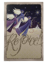 18 Angels Rejoice Christian Christmas Cards Behold I Bring You Good Tidings