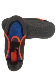 Boys Blue & Orange Aqua Socks Water & Beach Shoes 2-3