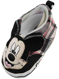 Disney Infant Boys Mickey Mouse Good Guy Slip-On Sneakers Kids Shoes