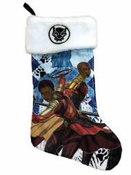 Mens Marvel Black Panther Okoye and Nakia Holiday Christmas Stocking