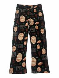A Christmas Story Mens Ralphie Leg Lamp Fleece Sleep Pants Pajama Bottoms