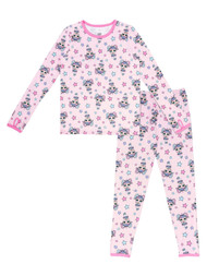 Cuddl Duds Climate Right Girls L.O.L. Surprise Thermal Underwear Base Layer