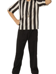 Boys Athletic Sports Referee Halloween Costume