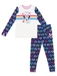 Cuddl Duds Climate Right Disney Girls Minnie Mouse Thermal Base Layer