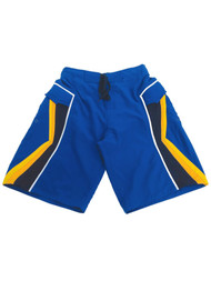 Mens Arizona Blue Yellow Swimming Surfing Board Shorts Trunks Small S