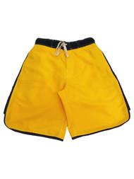 Mens Arizona Yellow Blue Swimming Surfing Board Shorts Trunks Small S