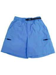 Mens Cherokee Light Blue Snap Buckle Board Shorts Swim Trunks