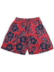Mens Cherokee Red Wild Flowers Board Shorts Swim Trunks