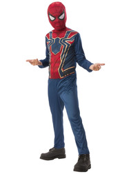 Boys Avengers Infinity War Iron Spider Jumpsuit Halloween Costume Small 4-6