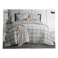 Bee & Willow Green Buffalo Check Plaid Full Queen Quilt & Shams Bed Set, 3 Piece
