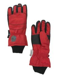 Boys Red & Black Thinsulate Snow & Ski Winter Gloves
