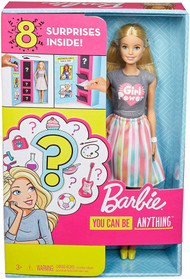 Barbie Careers Surprise Closet Doll & Accessories, Blonde with 2 Looks
