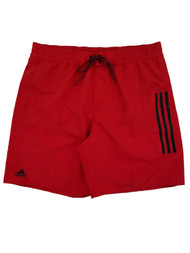 Adidas Mens Red Icon 2.0 Swim Trunks Board Shorts X-Large