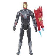 "Avengers Marvel Endgame Titan Hero Power FX Iron Man Action Figure, 12"" Ironman"