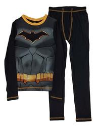 DC Boys Black Batman Superhero Thermal Underwear Long Johns