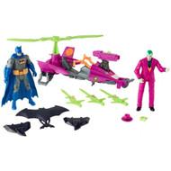 DC Comics Batman Missions Batman vs The Joker Pack Action Figure Playset