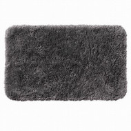 Apt 9 Gray Shag Throw Rug 24x38 Comforel Grey Bath Mat Skid Resistant