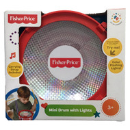 Fisher-Price Mini Drum with Lights & Drumsticks