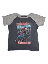 Amazing Spider-Man Toddler Boys 2-Tone Gray Short Sleeve T-Shirt Tee Shirt