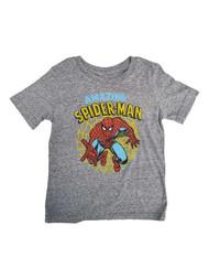 Amazing Spider-Man Toddler Boys Gray Short Sleeve Web T-Shirt Tee Shirt