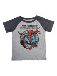 Amazing Spider-Man Toddler Boys Gray Short Sleeve T-Shirt Tee Shirt