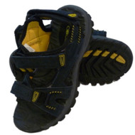 Cherokee  Boys Rugged Blue Leather Sandals Strappy Size 1