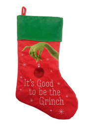 Illumination Dr. Seuss' The Grinch It's Good To Be Christmas Holiday Stocking