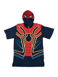 Boys Marvel Avengers Hoodie Spider-Man T-Shirt Tee Shirt X-Large 18-20